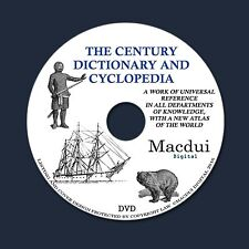 The Century dictionary and cyclopedia – 12 Vintage e-Books PDF on 1 DATA DVD
