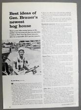 Original 1964 Farmer Article Endorsed by George Brauer Cass County Illinois