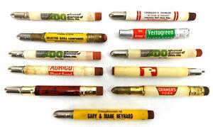 Advertising Bullet Pencil LOT vtg Mathieson Fertilizer Insurance Agriculture Ag