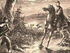 Civil War soldiers Little Mac Potomac Army 1862 civil war historical print