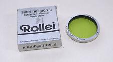 Original Rollei/Rolleiflex Hell Vert Filtre Bay II/2 Rii Light Green