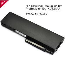 NEW 9 cell Battery for HP EliteBook 6930p 8440p ProBook 6440b KU531AA 458640-542