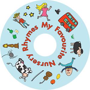 MY FAVOURITE NURSERY RHYMES CD 30 Songs for Preschool Nursery Children Kids