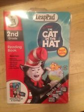 Leap Frog Leap pad Learning System 2nd Grade Dr. Seuss' The Cat In The Hat- New
