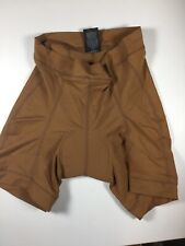 Descent Padded Road Bicycling Shorts Brown Womens Medium
