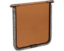 Trixie Replacement Spare Flap For Trixie Cat Doors - Brown Door 14.7cm x 15.8cm