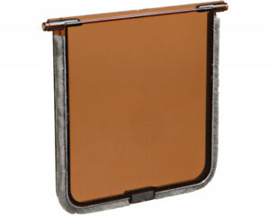 Trixie Replacement Spare Flap For Trixie Cat Doors - Brown Door 14.7cm x 15.8cm