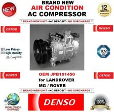 DENSO AIR CONDITION AC COMPRESSOR FEO JPB101450 for LANDROVER MG ROVER BRAND NEW