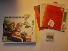 MARIO KART 7 ORIGINAL UK NINTENDO 3DS GAME COMPLETE