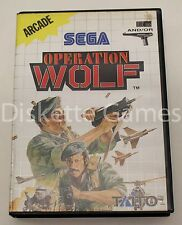OPERATION WOLF - MASTER SYSTEM 2 - PAL ESPAÑA - SEGA II - OPERATIONWOLF