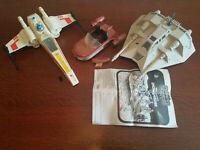 Star Wars Vintage Kenner X-Wing Fighter, Snowspeeder & Landspeeder
