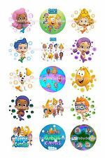 "BUBBLE GUPPIES BOTTLE CAP IMAGES 15 1"" CIRCLES   *****FREE SHIPPING*****"