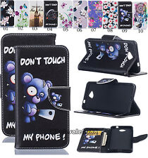 Magnetic Flip Cover Slot Wallet Leather Case Pouch Bag Stand For Nokia&Huawei