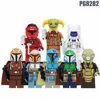 New Star Wars Movie Figures Zakus Bounty Hunter Ella Mandalorian Minifigures