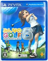 [JAP] Everybody's Golf 6 - Jeu Sony PS VITA - Capcom - NTSC-J