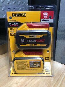 DEWALT DCB609 FLEXVOLT 20V/60V MAX* 9.0Ah Lithium-Ion Battery