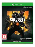 CALL OF DUTY BLACK OPS 4 IV - XBOX ONE - NEW SEALED - SAME DAY DISPATCH