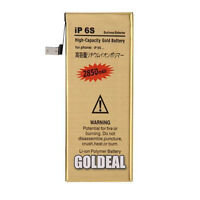 NEW High Capacity 2850mAh Replacement Gold Battery for Apple iPhone 6S