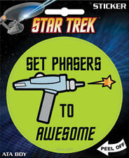 Star Trek Ensemble Phaser à Awesome 4-inch Autocollant