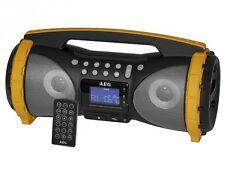 Baustellenradio Boombox mit Radio, USB, AUX IN, SD, Bluetooth AEG SR 4367 BT