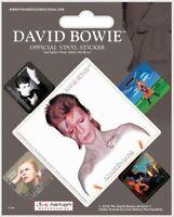 David Bowie (ALADDIN Sane) Pack De 5 Autocollants Vinyle ( Py)