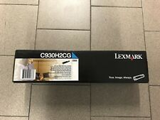 Toner Lexmark C935 CIANO (C930H2CG) originale (NO compatibile) - Original new