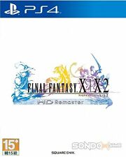 Final Fantasy X/X-2 HD Remaster HK Chinese subtitle Version Japan Voice PS4 NEW