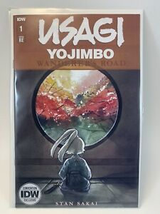 Usagi Yojimbo: Wanderer's Road #1 2020 NYCC Exclusive LE **IN HAND** FAST SHIP!!