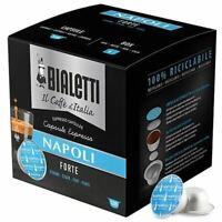 128 CAPSULE BIALETTI MOKESPRESSO I CAFFE' D'ITALIA NAPOLI MULTIPACK CONVENIENZA