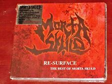Morta Skuld: Re-Surface The Best Of CD 2005 Resurface Peaceville UK Digipak NEW