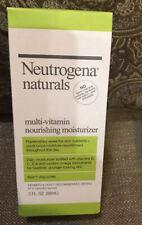 NIB Neutrogena Naturals Multi-Vitamin Nourishing Moisturizer 3 oz Free Ship