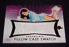 2017 Benchwarmer ALISON WAITE Dreamgirls #2 PILLOW CASE Red Foil #1/1 PLAYBOY
