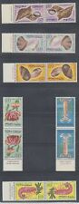 Morocco 1965 Sea Life Sc 123-128 tete beche pairs Mint Never Hinged