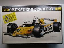 Heller Vintage 1:12 Renault RE-20 / RE-23 Turbo Formula 1 - Arnoux / Jabouille
