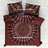 Indian Mandala Duvet Doona Cover Bedding Blanket Queen Quilt Cover Comforter Set