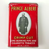 Vintage PRINCE ALBERT Pocket Tobacco Tin 1 5/8 oz. Excellent Condition
