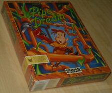 PIPE DREAM by Lucasfilm ~ IBM PC DOS ~ BIG boxed ~ SEALED COLLECTIBLE ~ english