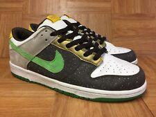 Nice🔥 Nike Dunk Low Dark Cinder Hyper Verde 6.0 Sz 10.5 314142-233 Men's Shoes