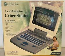 Oregon Scientific Accelerator Cyber Station Children Talking Laptop 35Activities