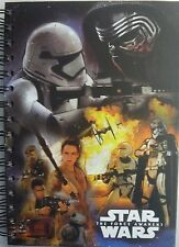 Star Wars Ep7 The Force Awakens A5 Spiral Hardback Notebook To-do Journal