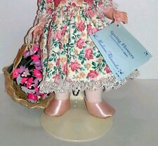 """Prettiest Pink Satin Slip On Doll Shoes for 8"""" Alexander & Ginny"""