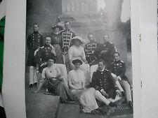 L'illustrazione italiana  1913 famiglia imperatore d'Albania GUGLIELMO Scutari