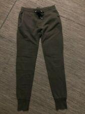 HM Mens Small Jogger Sweatpants Green
