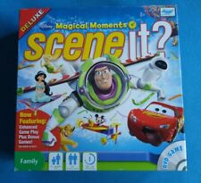 Disney Scene It Magical Moments DELUXE Family DVD Board Game - Great Condition