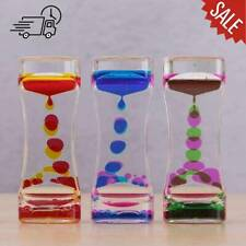 Visual Sensory Toy Liquid Bubble Motion Drop Timer sedation Colourful