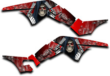 HONDA TRX250R GRAPHICS DECAL KIT GRIM REAPER REVENGE TRX 250 R STICKER RED