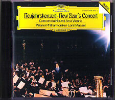 Neujahrskonzert aus Wien 1980 Lorin MAAZEL CD New Year's Concert from Vienna PDO