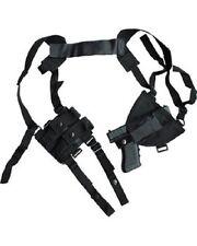 Kombat Covert Cross Draw épaule holster avec double mag pouch noir