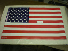 Patriotic American Flag Poster USA United States of America 22 x 34 inches