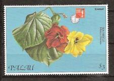 PALAU # 414-419 MNH FLOWERS PLANT FLORA